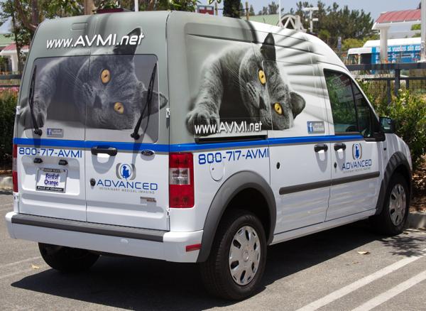 AVMI adds new Ford Transport van.