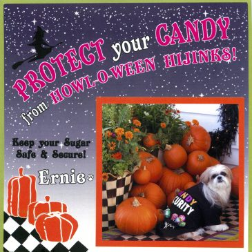 """Candy Security""-a great card from Ernie & mom"